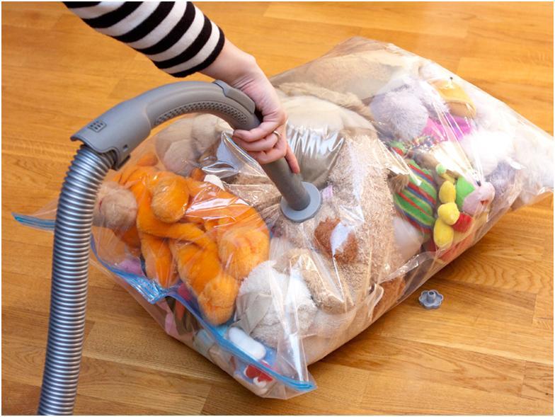 Вакуумные мешки для одежды, что это такое и как ими пользоваться