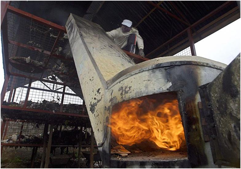 Мусоросжигательные промышленные печи – их особенности и принципы работы